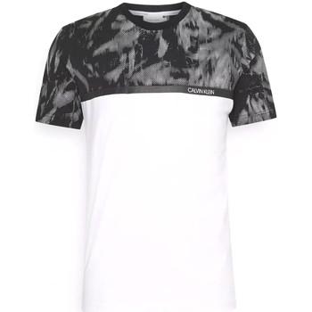 Textil Muži Trička s krátkým rukávem Calvin Klein Jeans K10K106713 Bílý