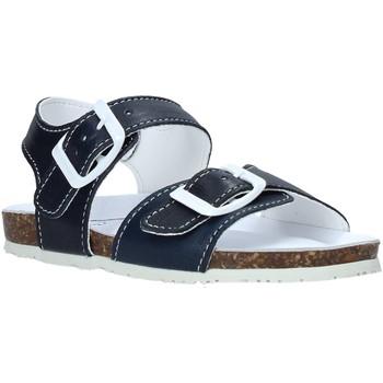 Boty Děti Sandály Bionatura LUCA Modrý