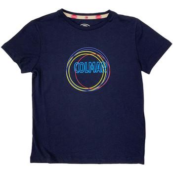 Textil Děti Trička s krátkým rukávem Colmar 3514 7TQ Modrý