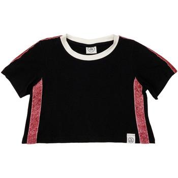 Textil Děti Trička s krátkým rukávem Naturino 6000719 01 Černá