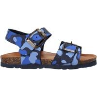 Boty Děti Sandály Bionatura 22B 1002 Modrý