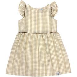 Textil Dívčí Krátké šaty Naturino 6001014 01 Béžový