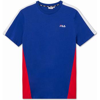 Textil Děti Trička s krátkým rukávem Fila 688749 Modrý