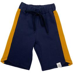 Textil Děti Kraťasy / Bermudy Naturino 6001022 01 Modrý