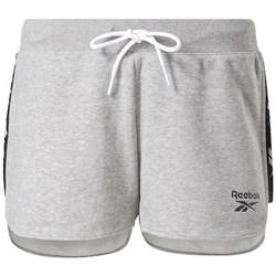 Textil Ženy Kraťasy / Bermudy Reebok Sport TE Tape Pack Short Šedé