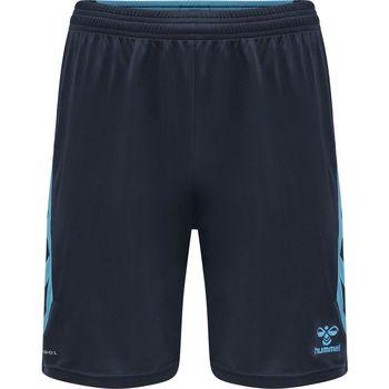 Textil Kraťasy / Bermudy Hummel Short  Poly hmlACTION noir/bleu