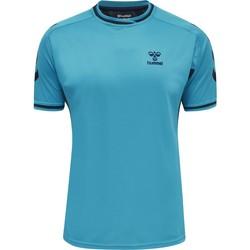 Textil Trička s krátkým rukávem Hummel Maillot  Poly hmlACTION bleu/bleu marine