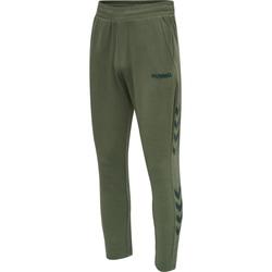 Textil Muži Teplákové kalhoty Hummel Jogging  hmlLegacy Tapered vert/noir