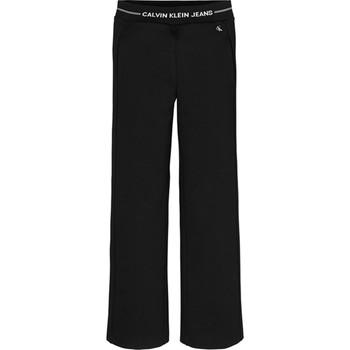 Textil Dívčí Turecké kalhoty / Harémky Calvin Klein Jeans IG0IG01002 Černá