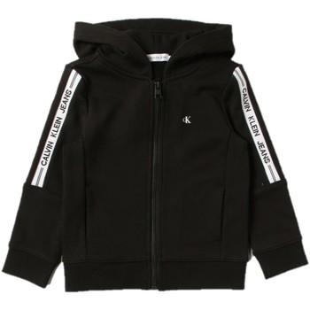 Textil Chlapecké Mikiny Calvin Klein Jeans IB0IB00909 Černá