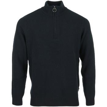 Textil Muži Svetry / Svetry se zapínáním Barbour Holden Half Zip Modrá