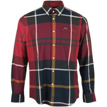 Textil Muži Košile s dlouhymi rukávy Barbour Dunoon Tailored Shirt Červená