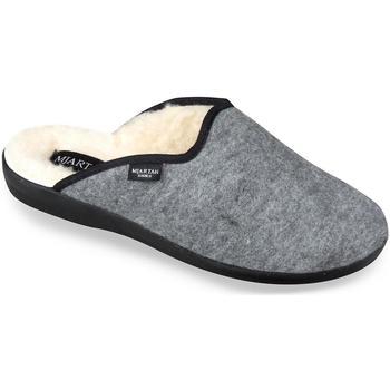 Boty Muži Papuče Mjartan Pánske sivé papuče  ALEX sivá