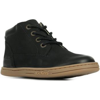 Boty Kotníkové boty Kickers Tackland Černá