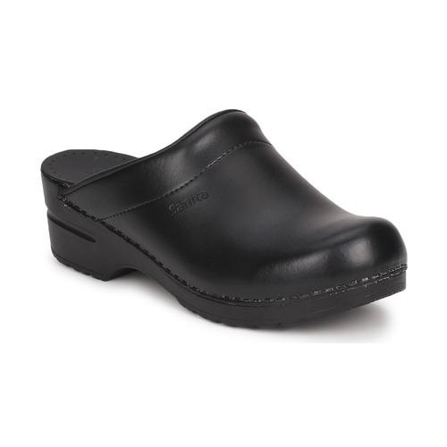 Boty Ženy Pantofle Sanita SONJA OPEN Černá
