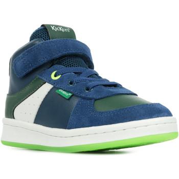 Boty Kotníkové tenisky Kickers Bilbon BB Mid Modrá