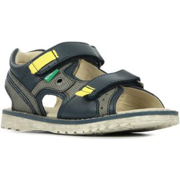 Boty Chlapecké Sportovní sandály Kickers Pepper Modrá