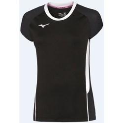 Textil Ženy Trička s krátkým rukávem Mizuno Premium High Kye Černé