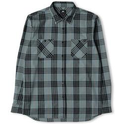 Textil Muži Košile s dlouhymi rukávy Edwin Chemise  Labour gris/noir