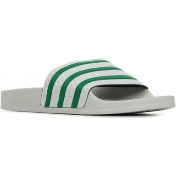 Boty pantofle adidas Originals Adilette Šedá