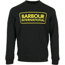 Textil Muži Mikiny Barbour Large Logo Sweat Černá