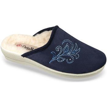 Boty Ženy Papuče Mjartan Dámske modré papuče  HELENKA modrá