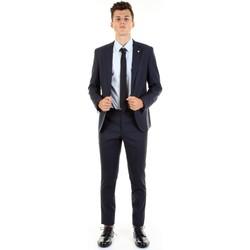 Textil Muži Obleky Manuel Ritz 2832A3109-203456 Modrá