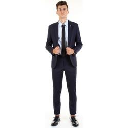 Textil Muži Obleky Manuel Ritz 2832A3109-203460 Modrá