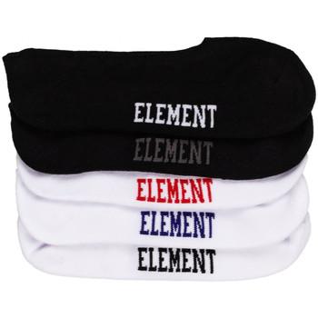 Doplňky  Muži Ponožky Element Low-rise socks 5 p. Vícebarevné