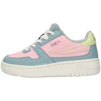 Boty Dívčí Nízké tenisky Fila 1011351 Modrá