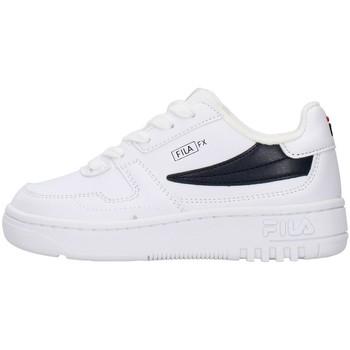 Boty Chlapecké Nízké tenisky Fila 1011351 Bílá