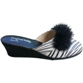 Boty Ženy Pantofle Milly MILLY300zebner nero