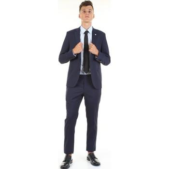 Textil Muži Obleky Manuel Ritz 2832A3109-203061 Modrá