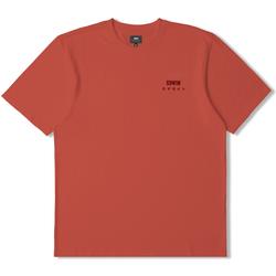Textil Trička s krátkým rukávem Edwin T-shirt  logo rouge