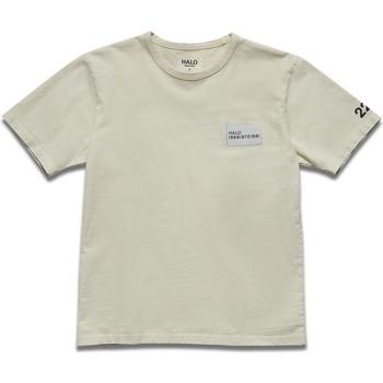 Textil Muži Trička s krátkým rukávem Halo T-shirt blanc