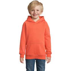 Textil Děti Mikiny Sols STELLAR SUDADERA UNISEX Naranja