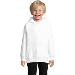 Textil Děti Mikiny Sols STELLAR SUDADERA UNISEX Blanco