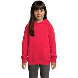 Textil Děti Mikiny Sols STELLAR SUDADERA UNISEX Rojo