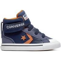 Boty Děti Kotníkové tenisky Converse Pro blaze strap hi Modrá
