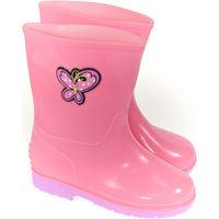 Boty Děti Holínky Elu Detské ružové gumáky SADE ružová