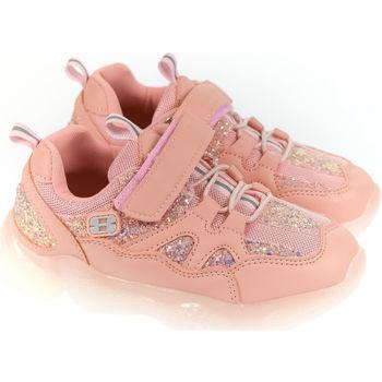 Boty Děti Nízké tenisky Elu Detské ružové tenisky MARK 31-36 ružová