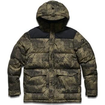 Textil Muži Prošívané bundy Halo Doudoune  Down Puffer vert camo/noir