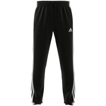 Textil Muži Teplákové kalhoty adidas Originals Essentials Tapered Elasticcuff 3 Stripes Černé
