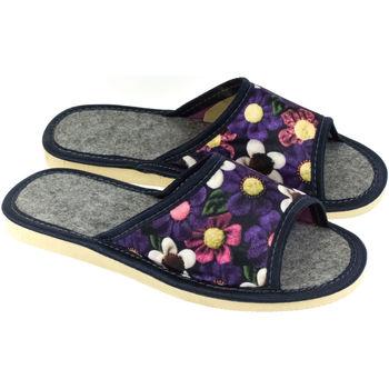 Boty Ženy Papuče John-C Dámske fialové papuče ALLA mix