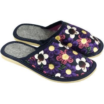 Boty Ženy Papuče John-C Dámske kvietkované papuče BARON mix