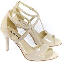 Boty Ženy Lodičky Pucci Dámske béžové sandále BAKANA béžová
