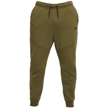 Textil Muži Kalhoty Nike Tech Fleece Olivové