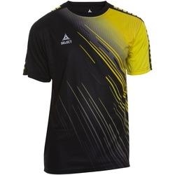 Textil Chlapecké Trička s krátkým rukávem Select T-shirt enfant  Player Comet noir