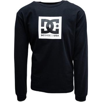 Textil Muži Teplákové bundy DC Shoes Square Star Černá
