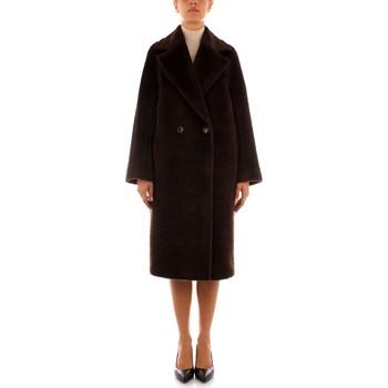 Textil Ženy Kabáty Maxmara Studio KARIM Hnědá